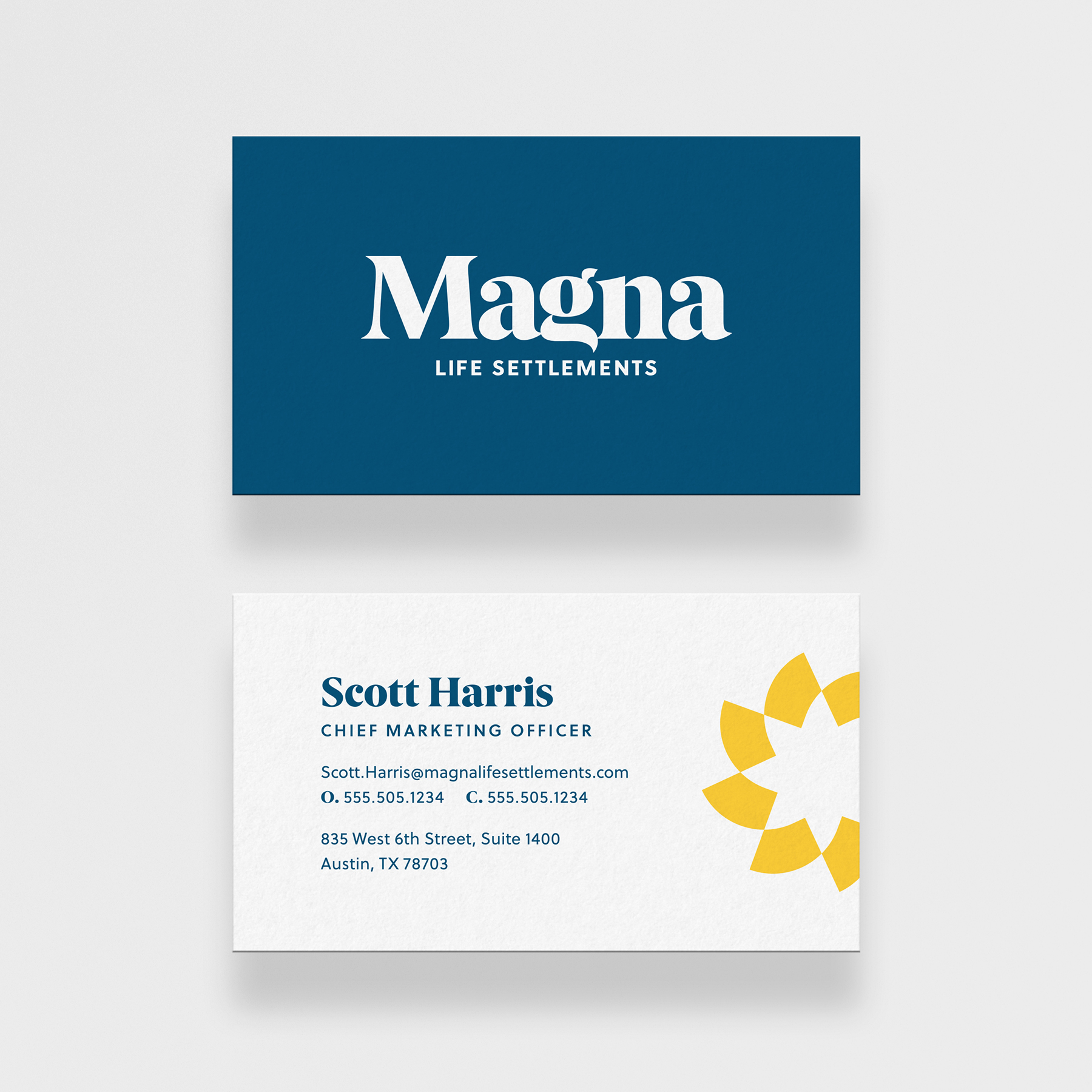 Magna Portfolio Small BusinessCards 1