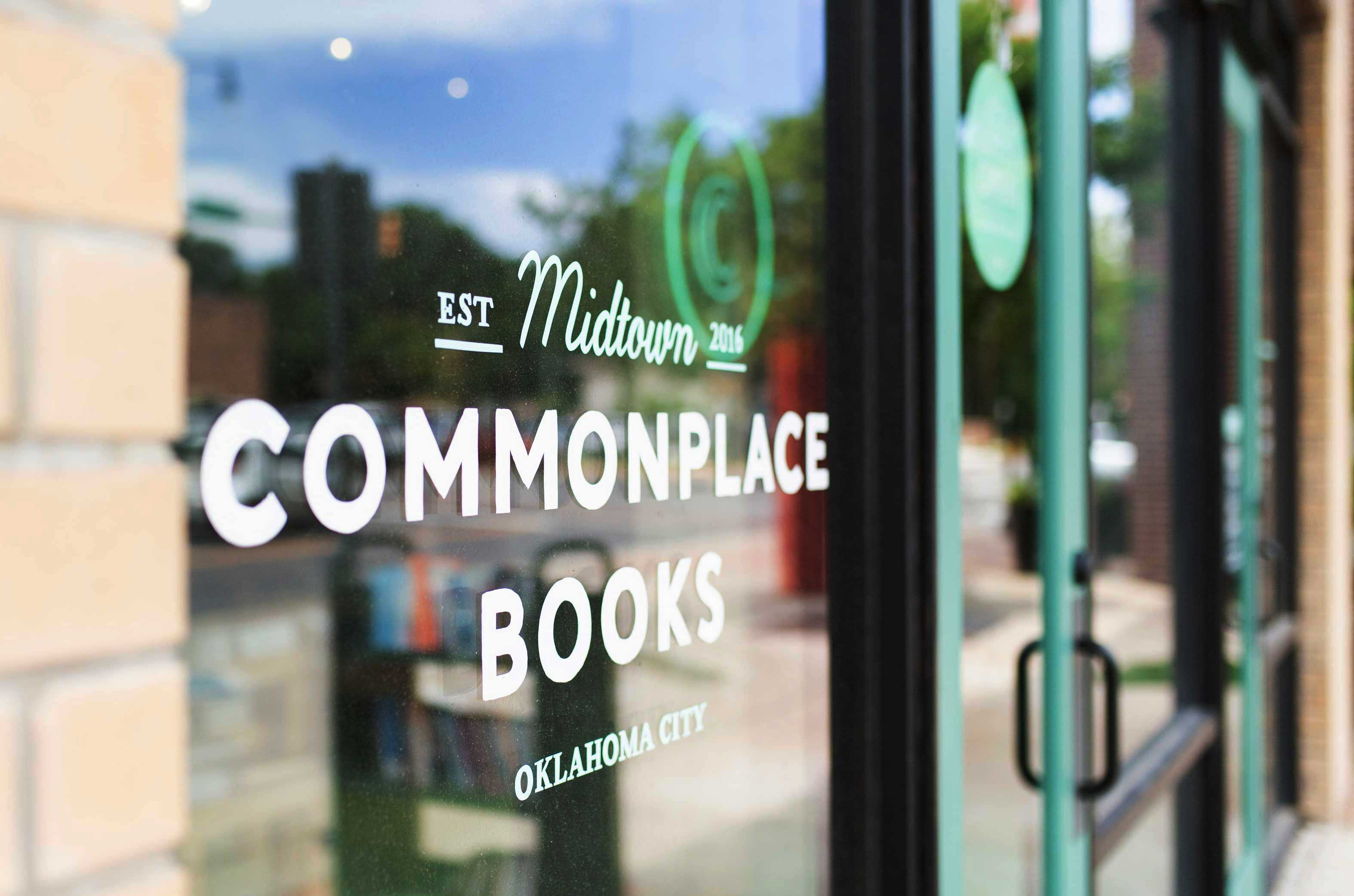COMMONPLACE Bookstore OKC Door New